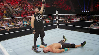 Kevin Owens John Cena WWE Superstars RAW