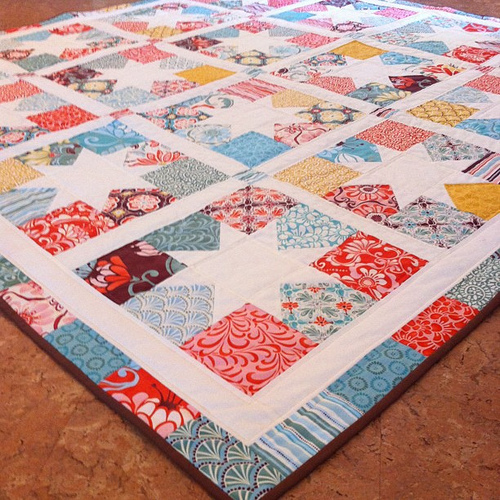 Charming Stars Quilt - Free Pattern