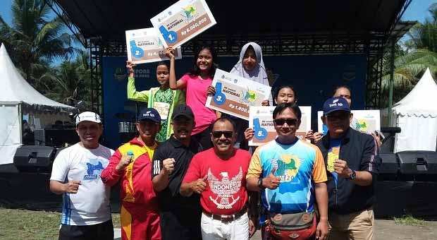 Dispora Jabar Sukses Gelar JIM 2018 di Pantai Pangandaran
