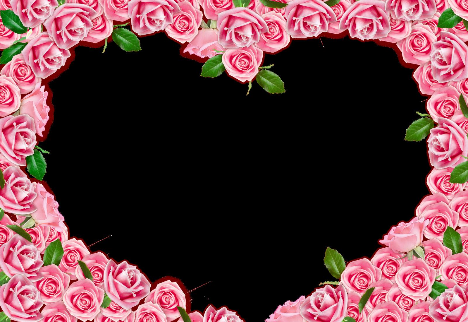 Cartao De Amor Para Photoshop: Artes Em Psd: 05 Molduras Românticas Todo O Meu Amor Para