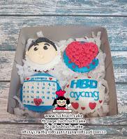 Cupcake Fondant 2d Untuk Ulang Tahun Cowok Dewasa