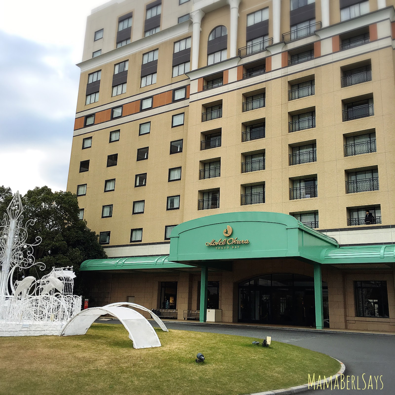 Travel Hotel Okura And Ikspiari Mall Tokyo Nov 2016
