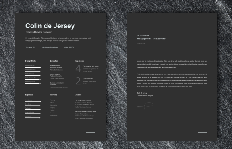 Cv Gratuit Resume Word And Photoshop