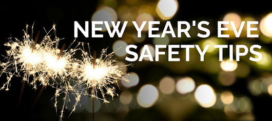 Safety Tips for New Year's Eve