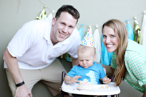 Sweet & simple first birthday celebration