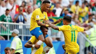 Brasil Vs Meksiko PD 2018