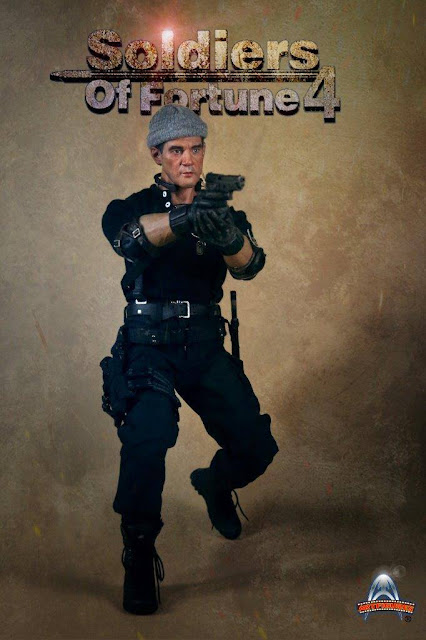 osw.zone Art Figure Soldiers of Fortune 4 aka The Expendables III Antonio Banderas as Galgo