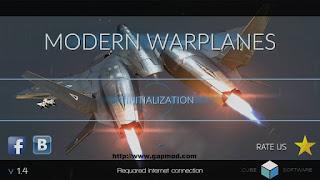Modern War Planes v1.4 Apk Android