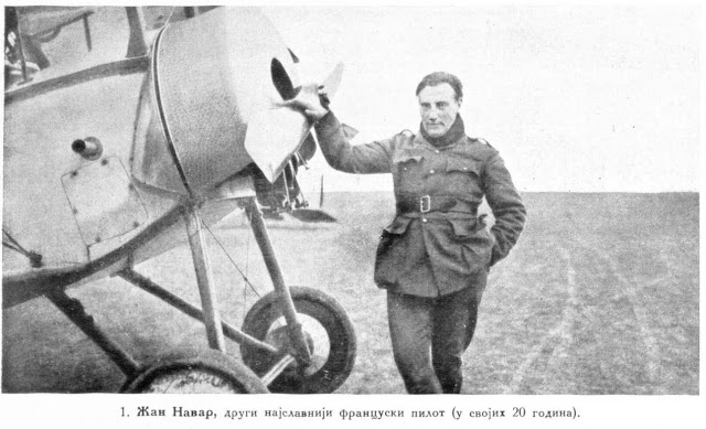 Jean Navarre, the second best celebrated French pilot (20 years old)