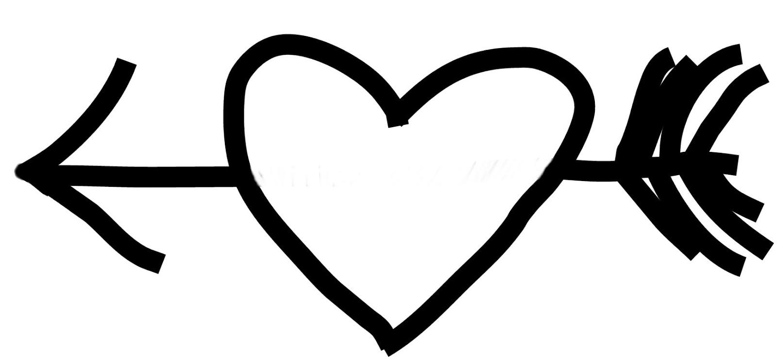 Scribbles Designs Challenge Blog: Freebie Friday: Heart Arrow
