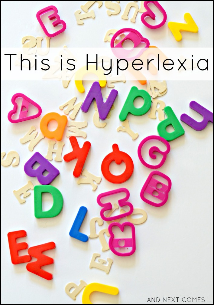 Information on hyperlexia and hypernumeracy, including a video of what it looks like from And Next Comes L