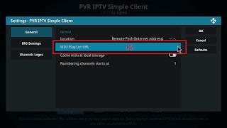 Cara menjalankan IPTV di KODI tahap 11
