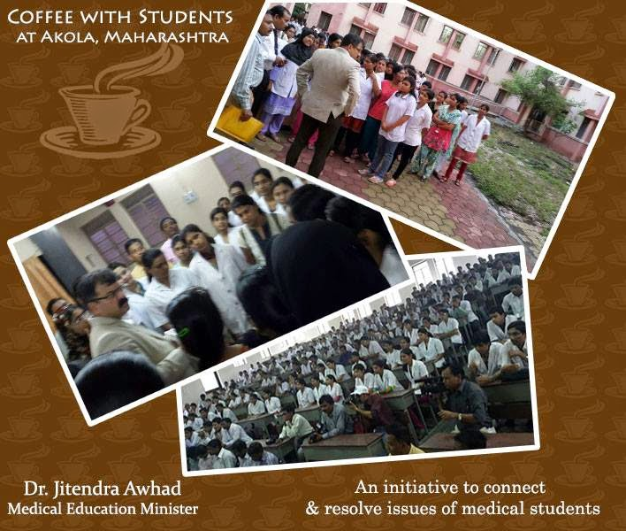 Coffee with Students