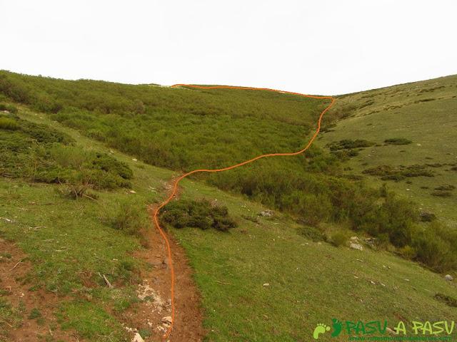 Subiendo al Pico Mocoso