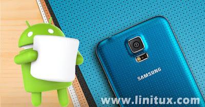 Marshmallow Android 6.0.1 Para Samsung Galaxy S5