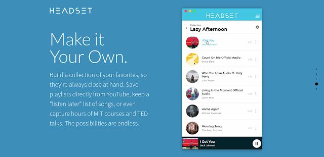headset app customize