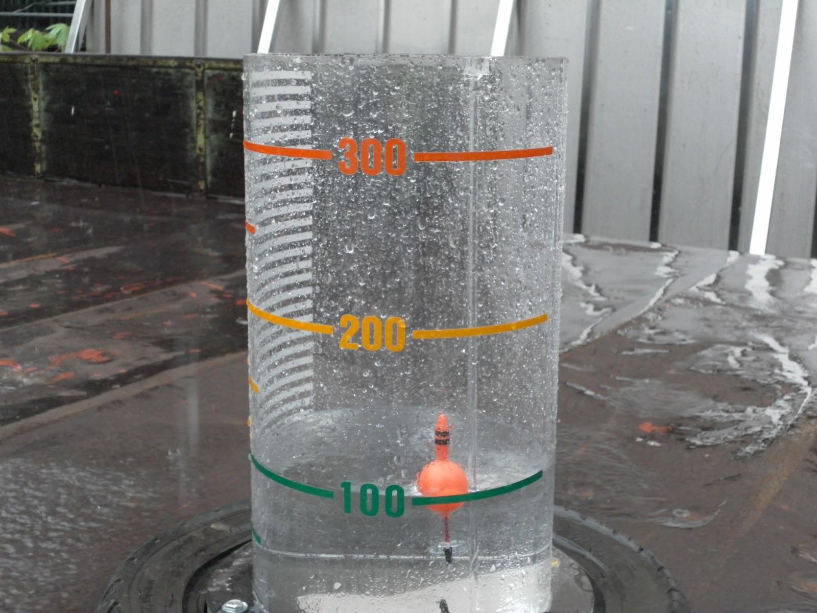 優活地嘉。盡在荖藤: 雨量筒觀測及北排觀測照片