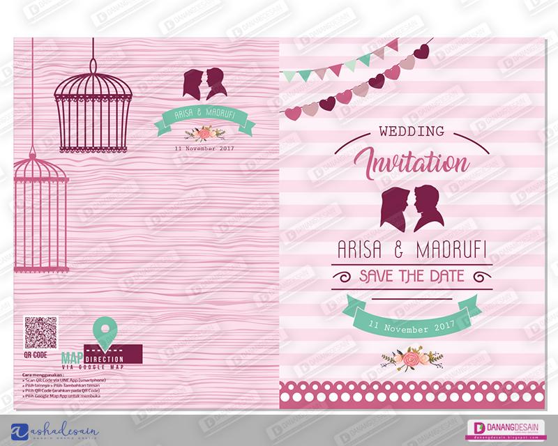 Contoh Desain Undangan Pernikahan Vintage - Contoh Desain ...