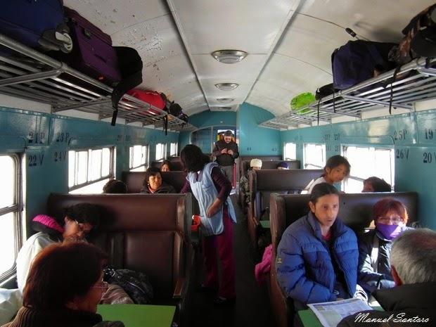 In treno, classe buffet