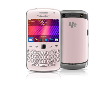 BlackBerry Curve 9360 in pink