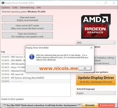 Hal Yang Perlu Anda Lakukan Sebelum Update Display Driver VGA Ryzen 5 2400G