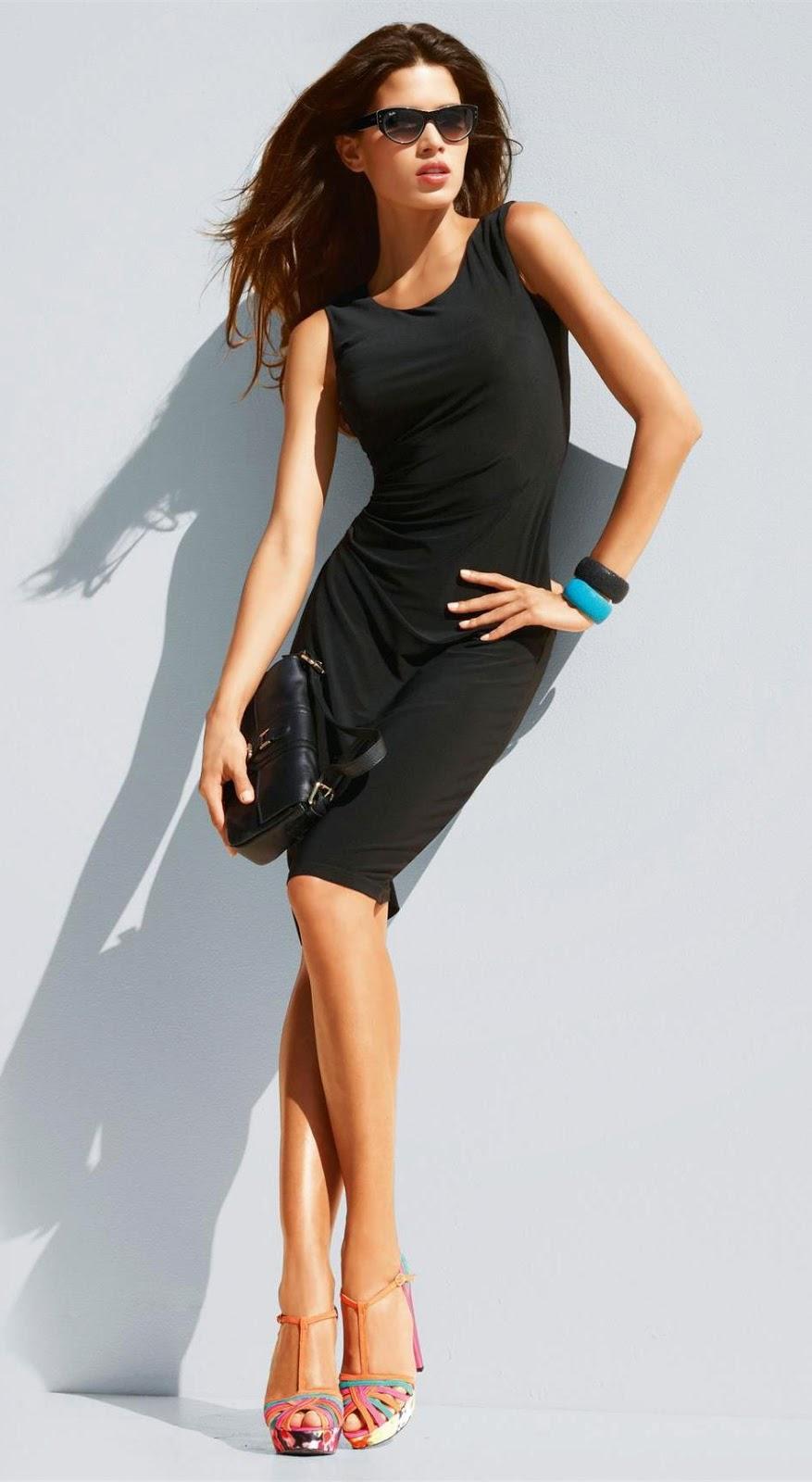 Madeleine Dress Black