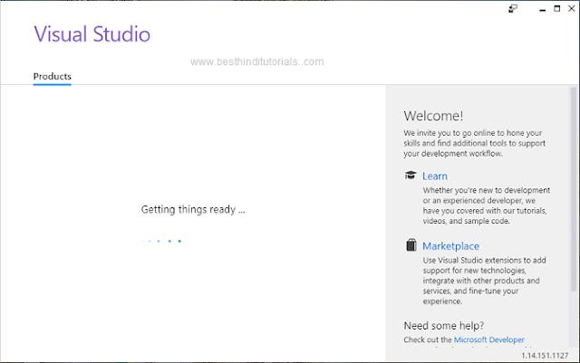 Installing-Microsoft-Visual-Studio-Expression-in-Hindi-9