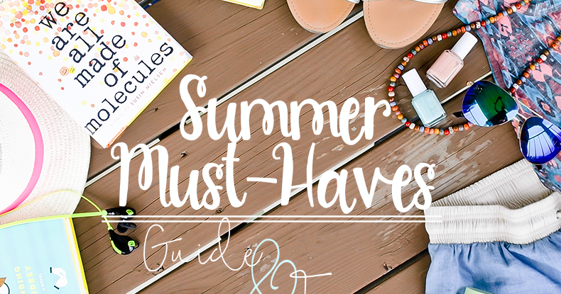 Bookish Lifestyle: Summer Must-Haves: Beauty Products