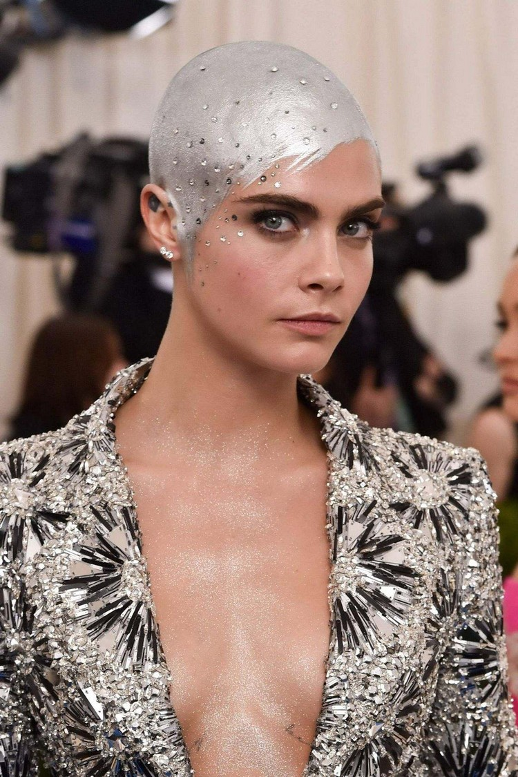 Cara Delevingne at the MET Gala