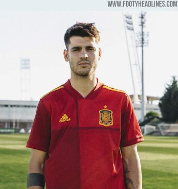 Spain Euro 2020 Home Kit Released - Footy Headlines