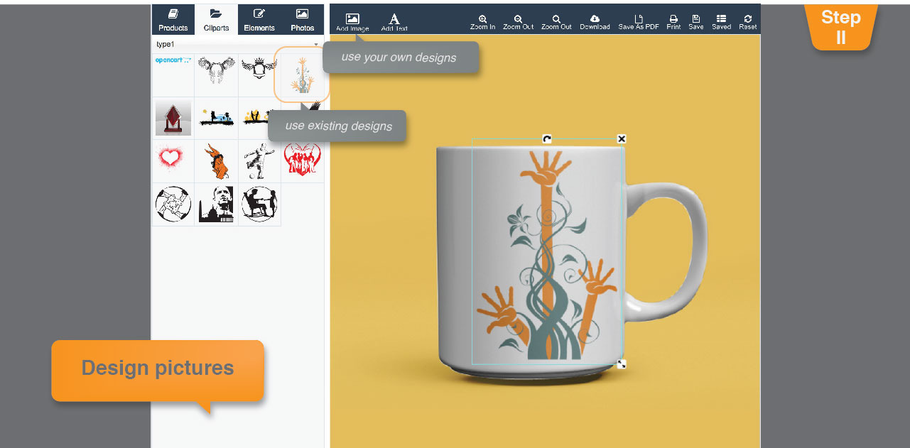 opencart fancy Product Designer module download ~ lalit yadav