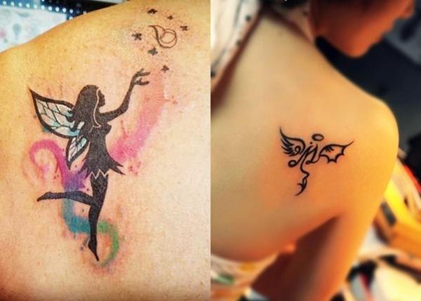 Die 30 schönsten Engel Tattoo-Designs