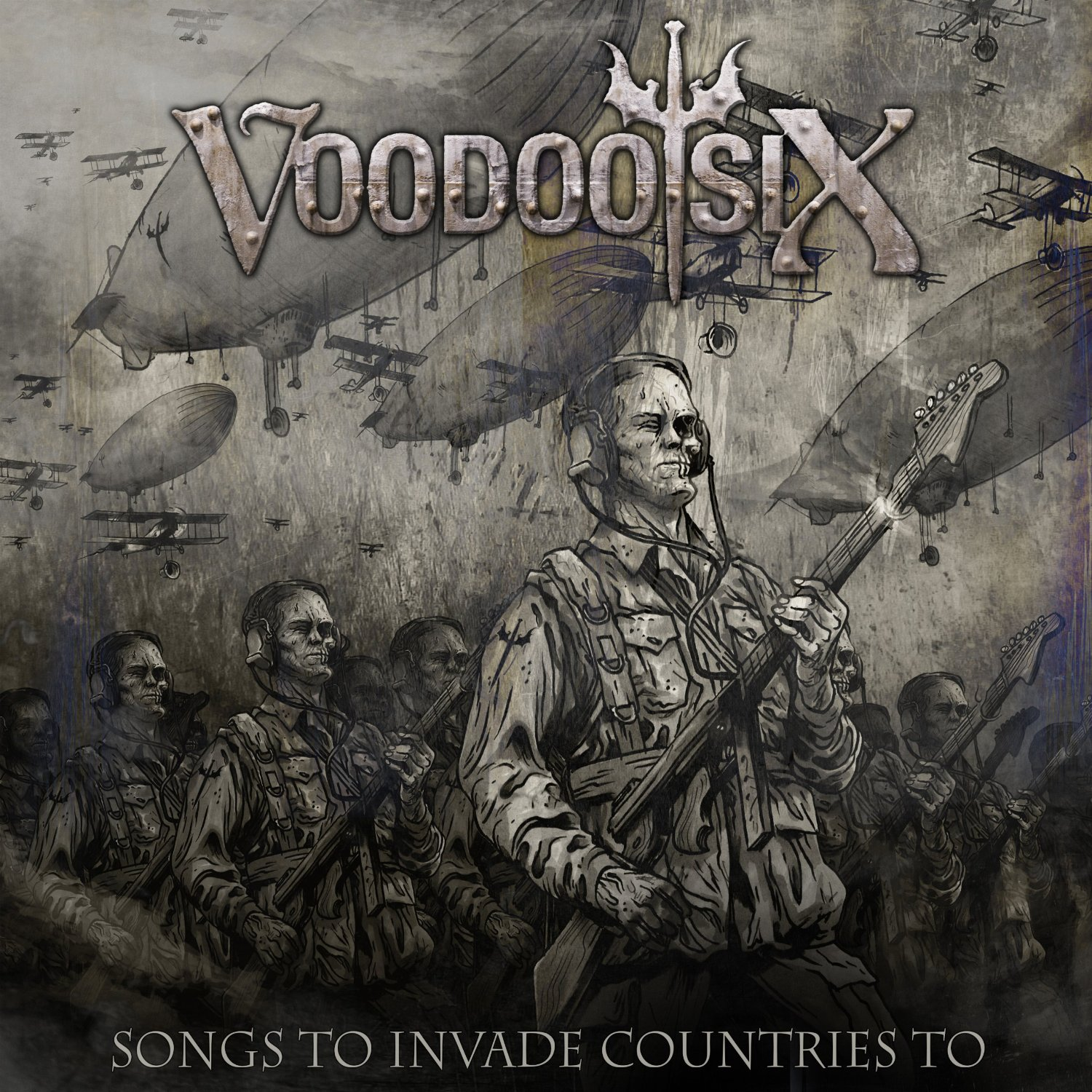 VOODOO SIX - Songs To Invade Countries To (2013) mp3 download