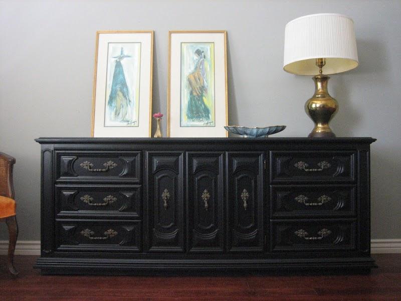 European Paint Finishes Thomasville Dresser