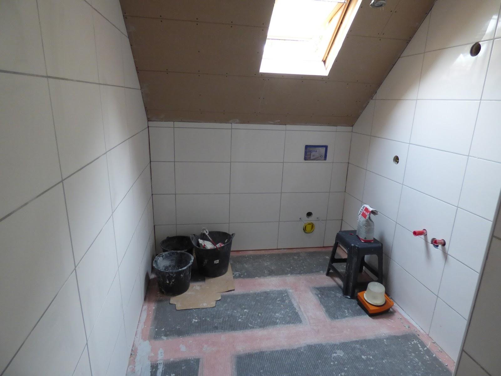 Plafond Badkamer Afsteken : Project badkamer #4