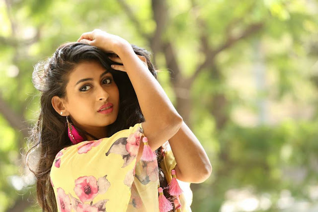 Nithya Naresh Stills At Soda Golisoda Movie Release Press Meet