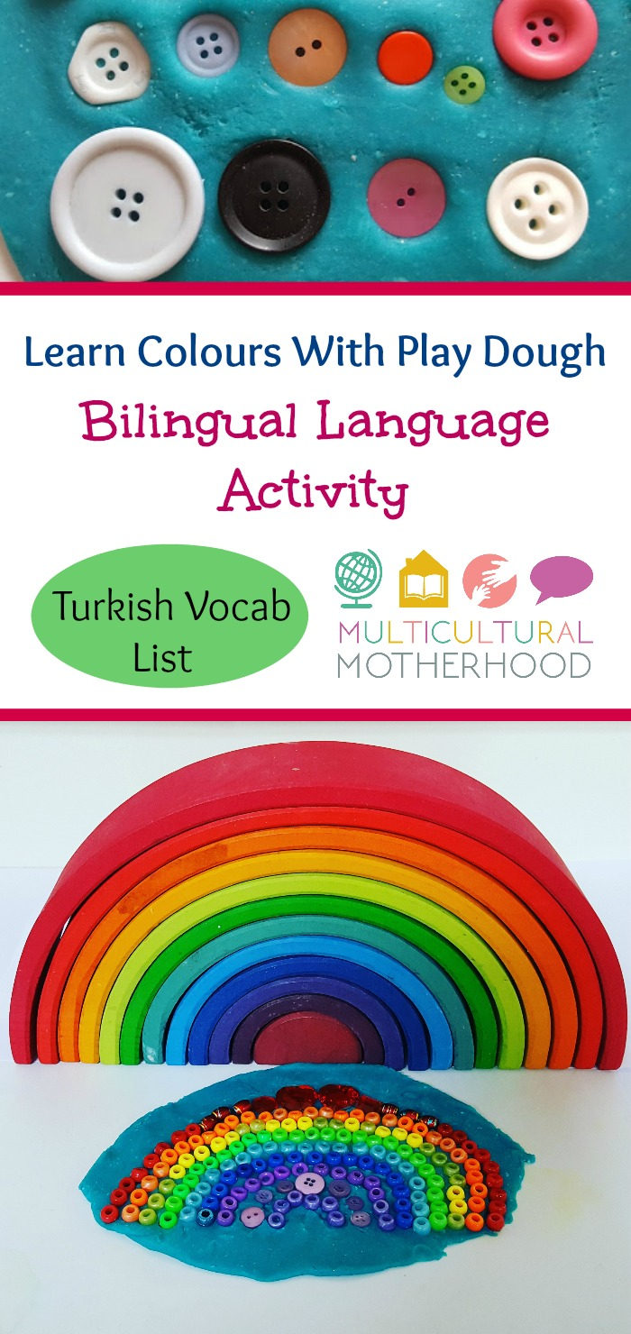 Bilingual Language Activity: Learn Colours With Play Dough ...