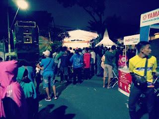 Pertunjukkan Wayang Kulit di Kelapa Sawit Expo 2018