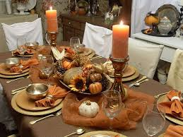 Fall Themed Table Decorations