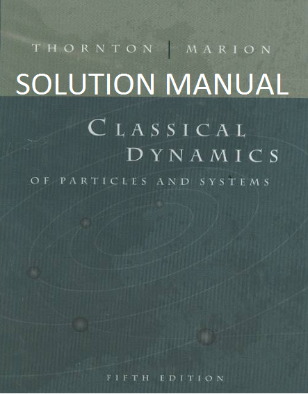 solution manual classical dynamics of particles and systems by rh houseofphy blogspot com