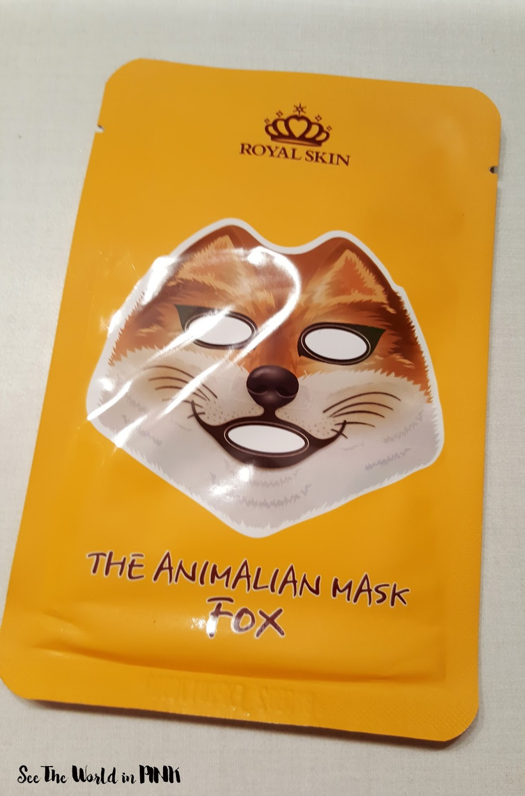 "Royal Skin The Animalian Mask ""Fox"""