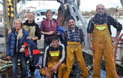 Pescaturismo Mallorca Foto de familia al final de la excursión
