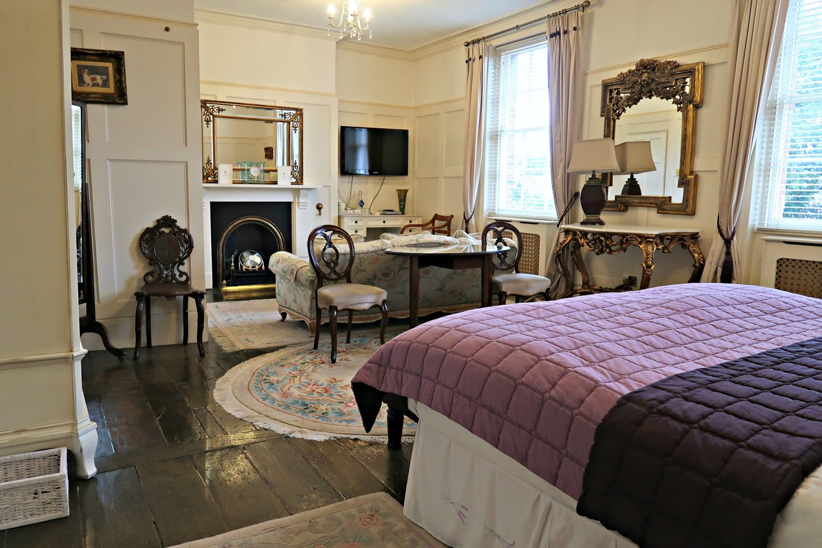 Netherstowe House Hotel Luxury Review Lichfield Afternoon Tea, Dinner, Bed & Breakfast
