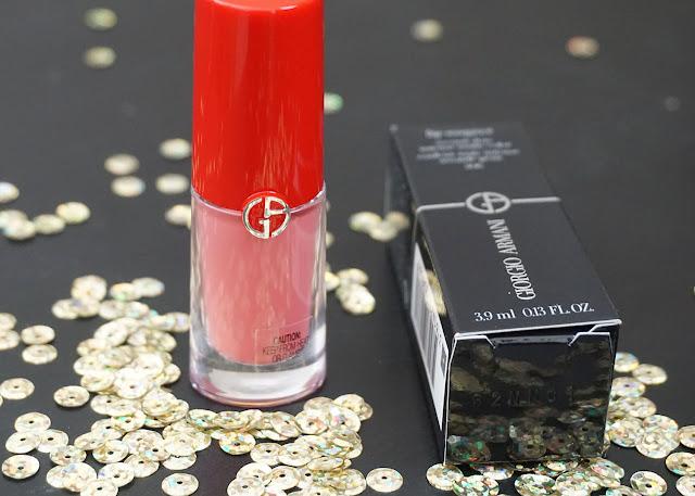 Giorgio Armani Lip Magnet Liquid Lipstick - 506 (Fusion) | bellanoirbeauty.com