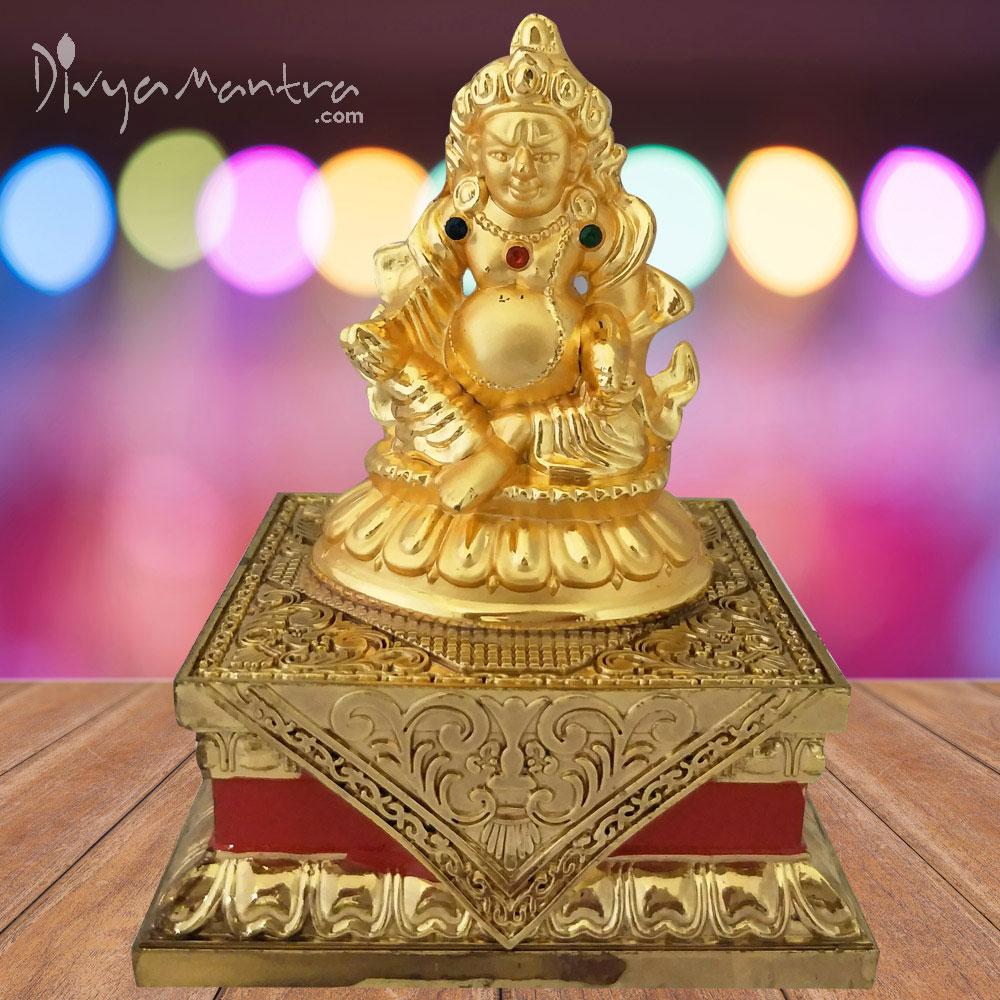 Feng Shui Tibetan Wealth God Jambhala Kubera For Success And Abundance