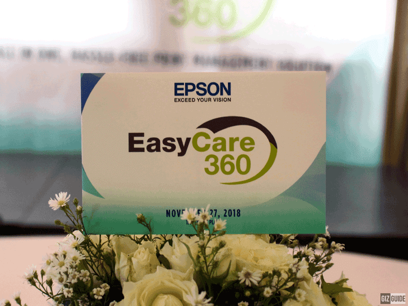 The Epson EasyCare 360 comes with every purchase of the WorkForce Pro printer!