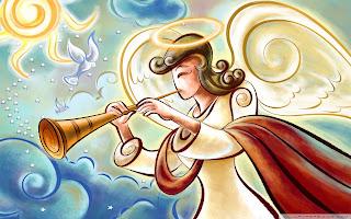 anioł i muzyka