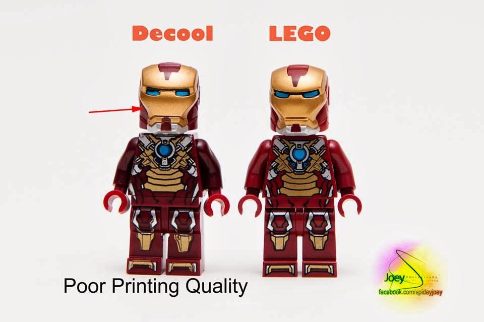 detoyz shop real vs fake lego minifigures