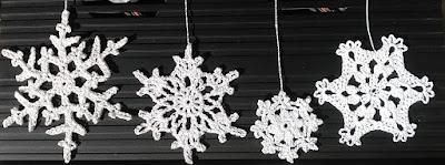 All my crochet snowflake