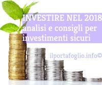 consigli d'investimento 2018